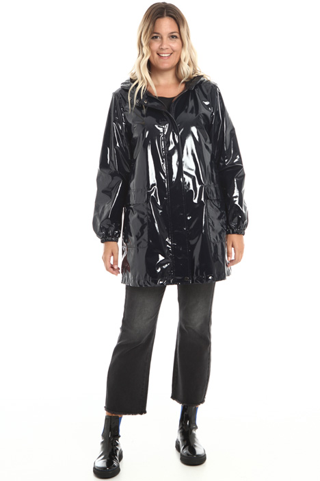 Varnished effect parka Intrend