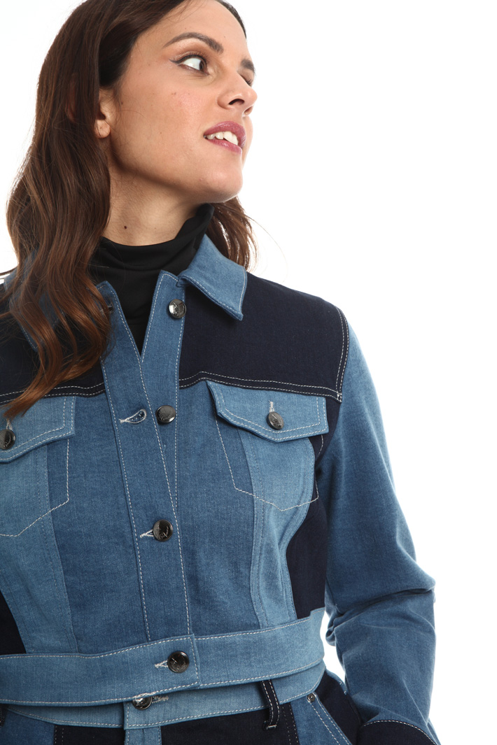 Stretch denim jacket Intrend