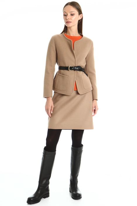 Double virgin wool jacket Intrend