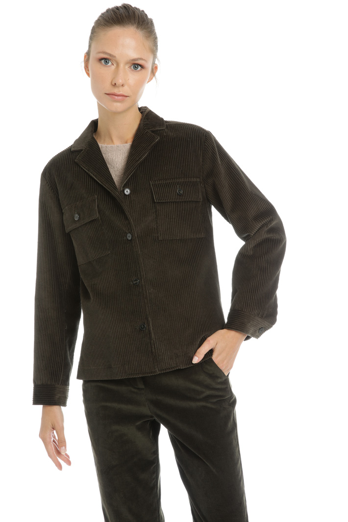 Corduroy jacket Intrend