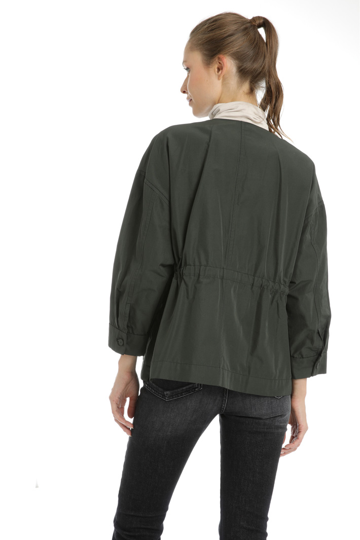 Cotton twill jacket Intrend