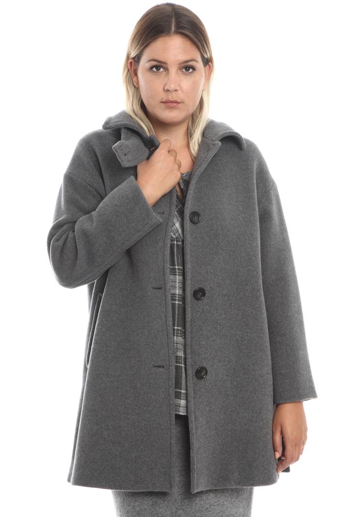 Wool blend coat Intrend