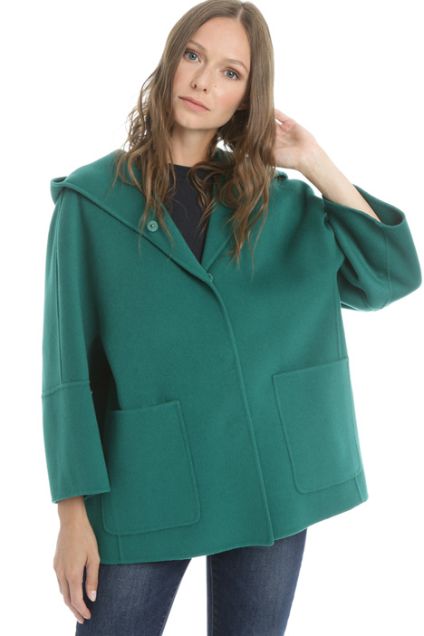Wool drap coat Intrend
