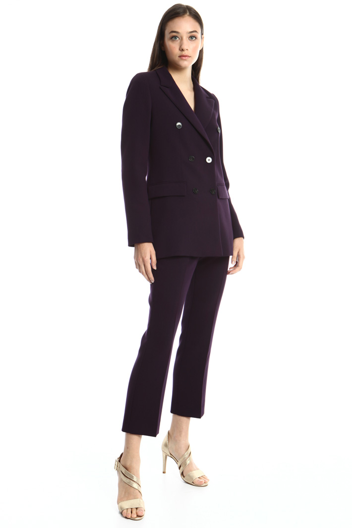 Stretch viscose blend suit Intrend