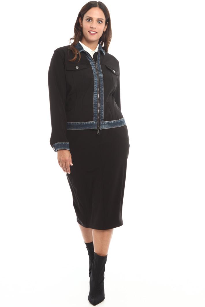 Technical fabric skirt Intrend