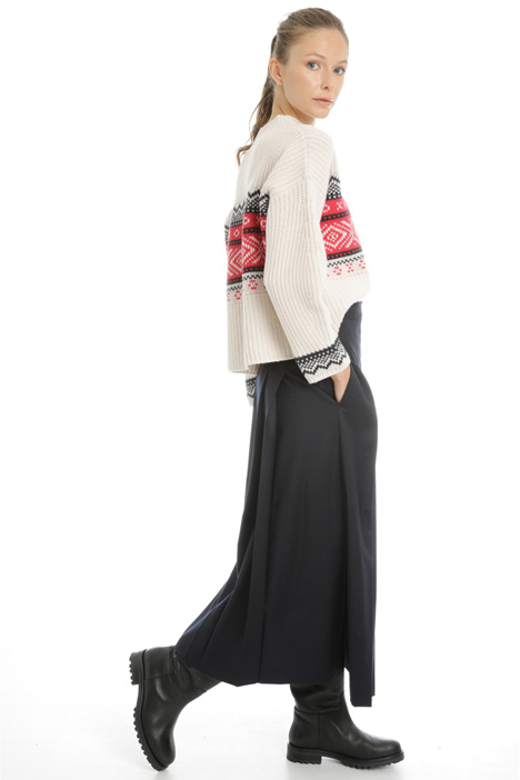 Wrap-up wool skirt Intrend