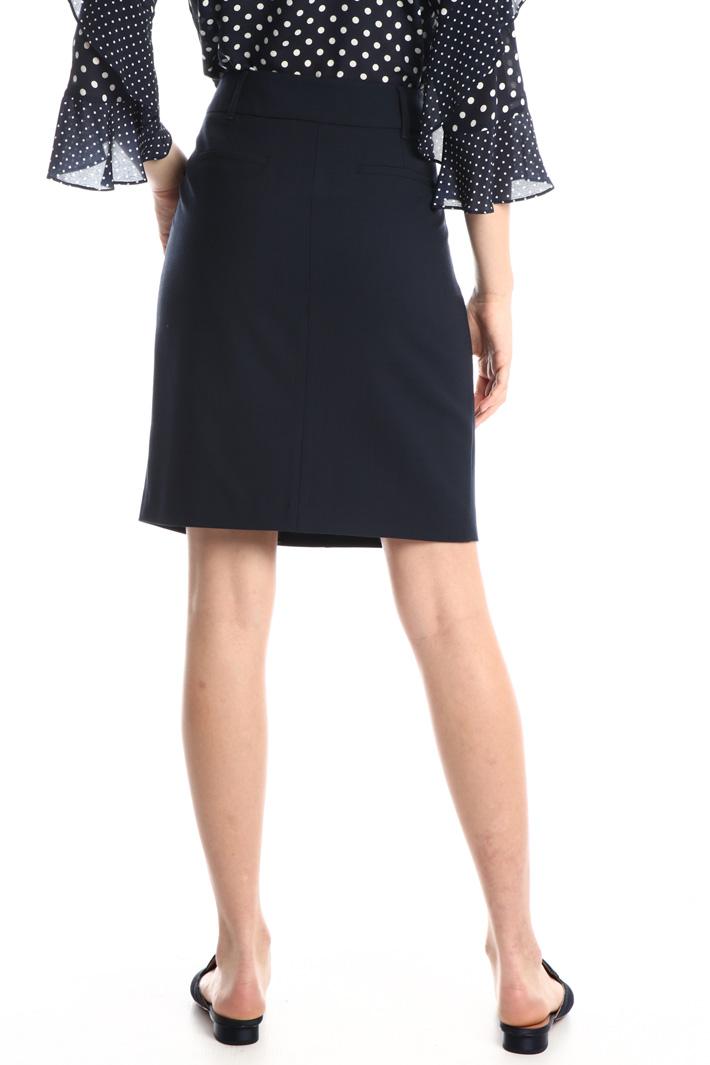 Wool tube skirt Intrend