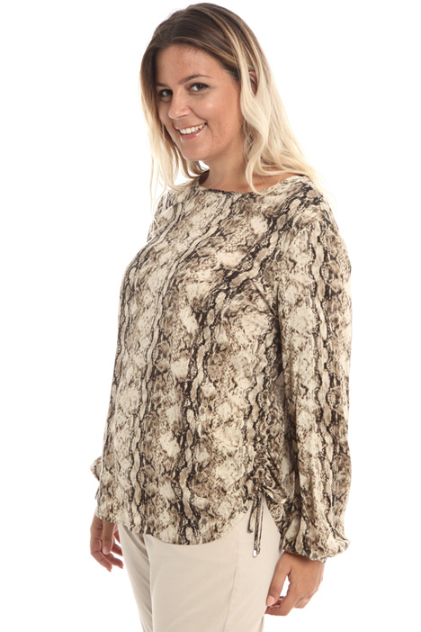 Blouse in lurex viscose Intrend