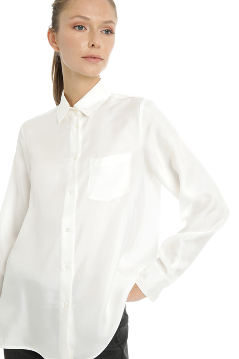 Silk twill shirt Intrend
