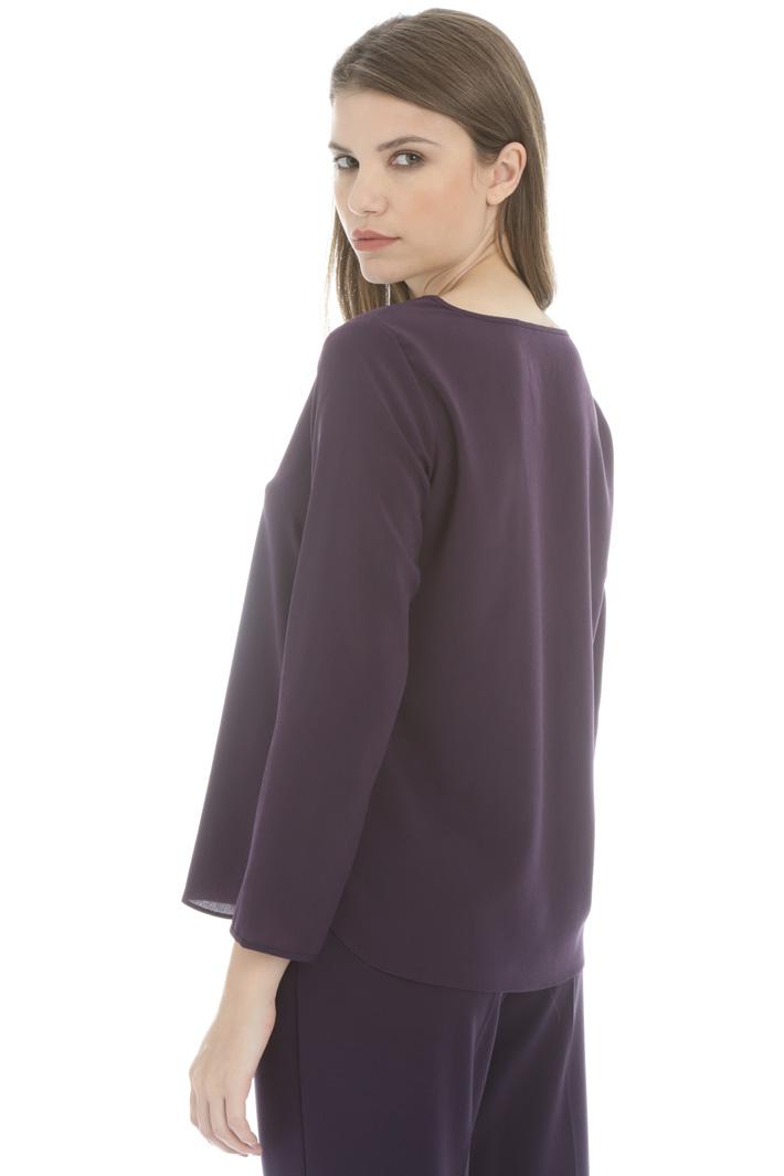 Crepe de chine blouse Intrend