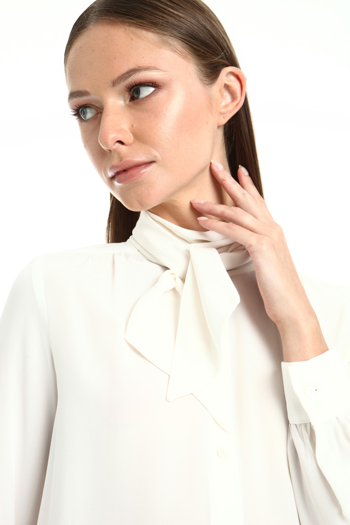 Pure silk crepe shirt Intrend