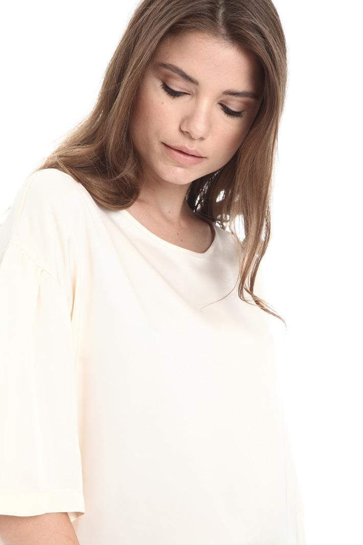 Fluid satin blouse Intrend