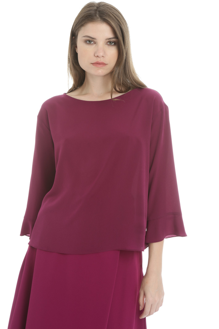 Bell cuff blouse Intrend