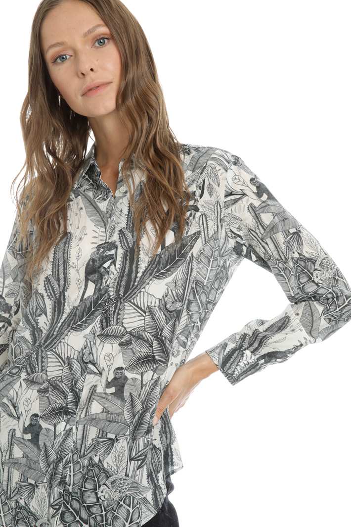 Pure silk crepe shirt Intrend