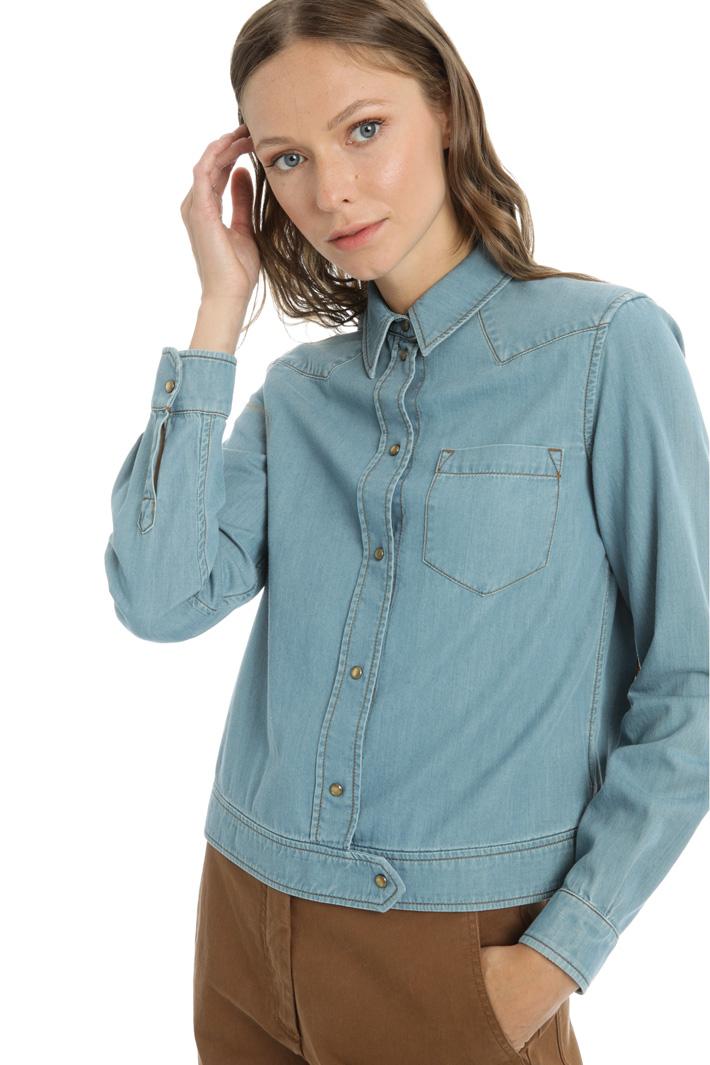 Cotton denim shirt Intrend