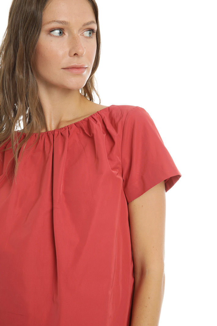 Cotton twill top Intrend
