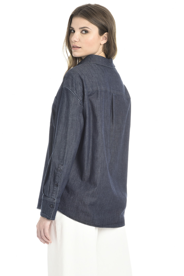 Cotton denim shirt Intrend
