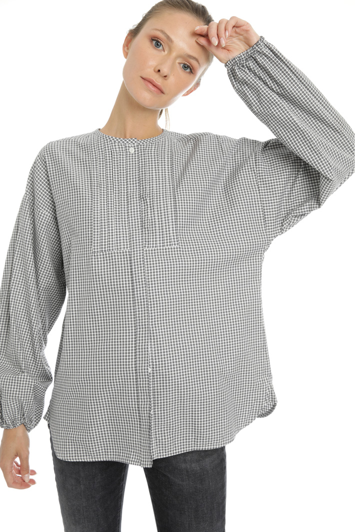 Cotton twill shirt Intrend