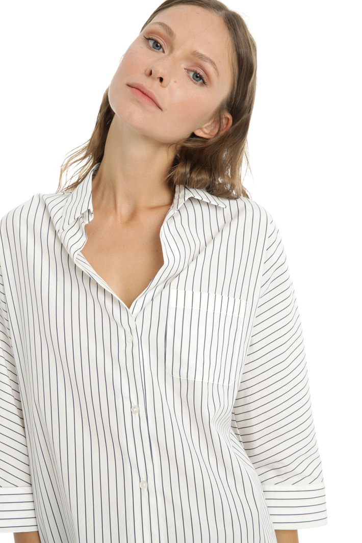 Cotton poplin shirt Intrend