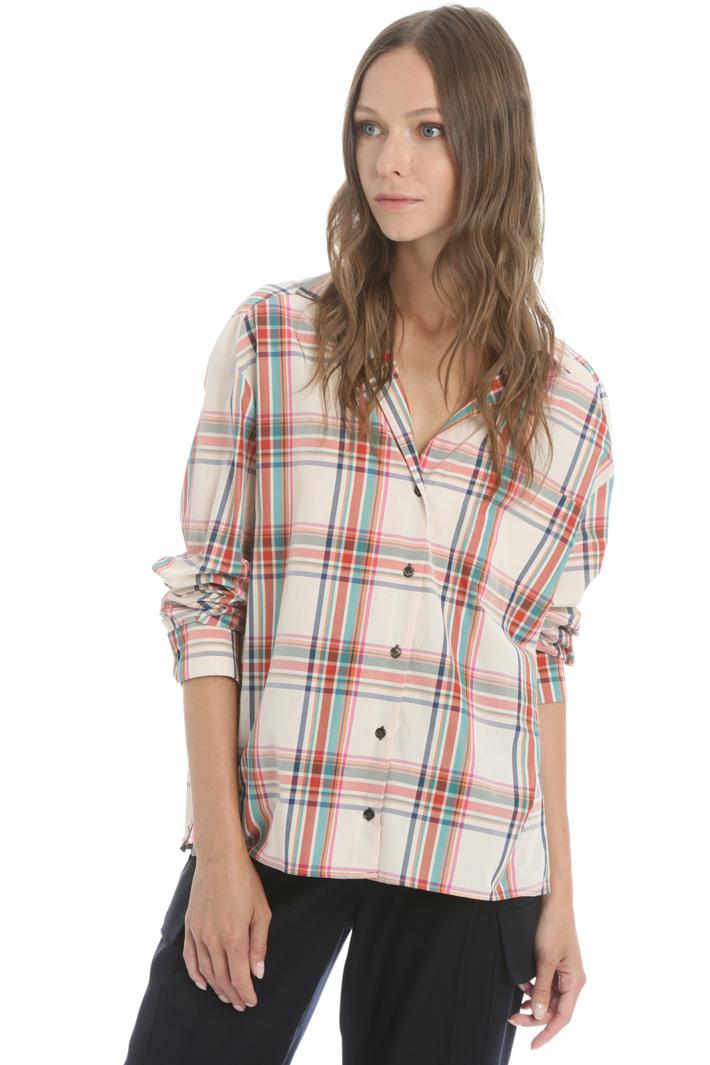 Cotton canvas shirt Intrend