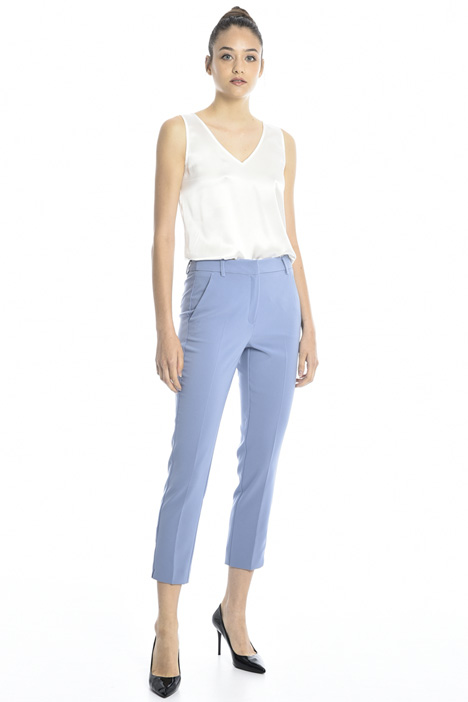 Twill cigarette trousers Intrend
