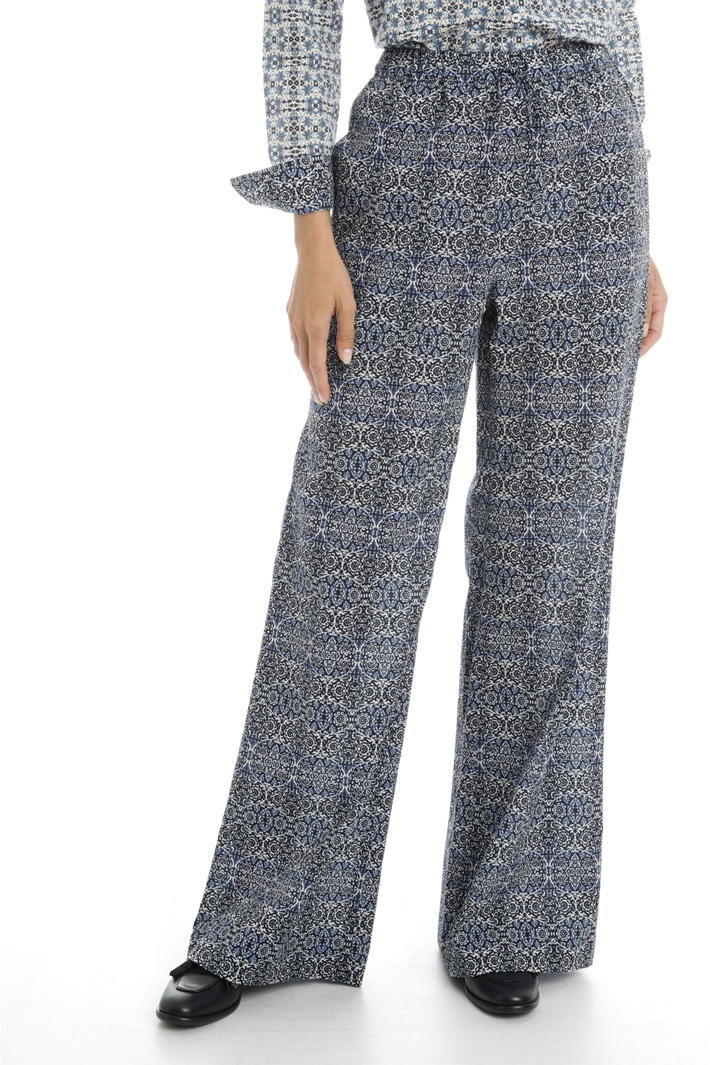 Cotton voile trousers Intrend