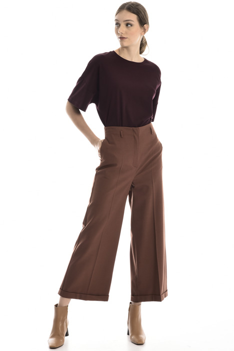 Crop flared trousers Intrend