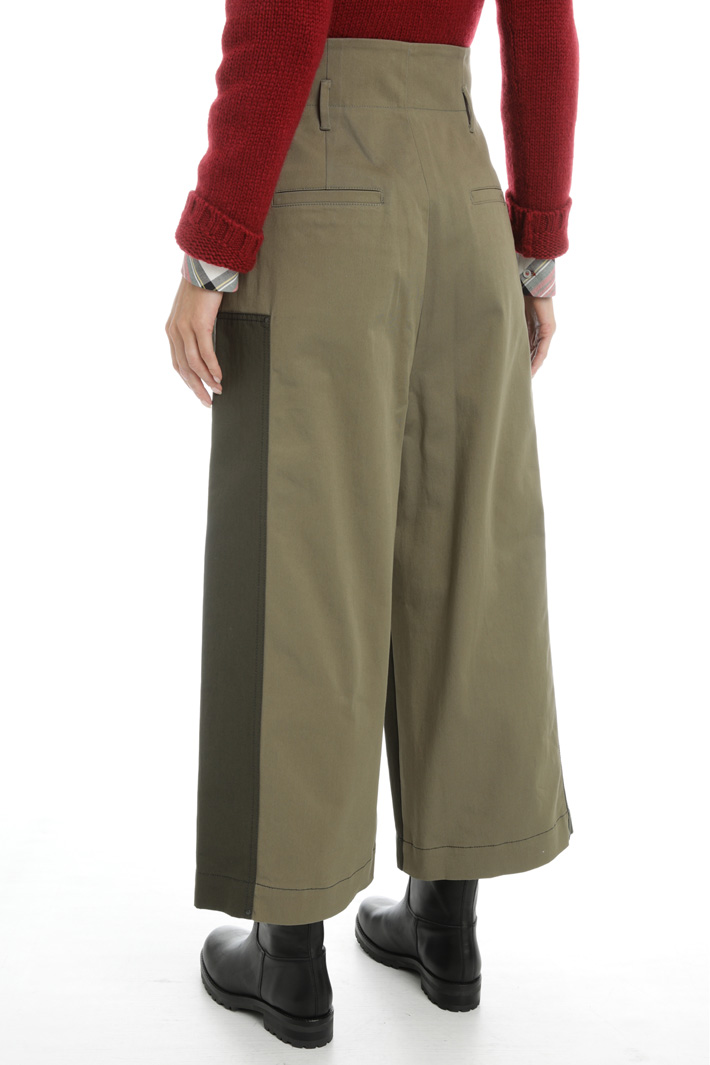 Cotton canvas trousers Intrend