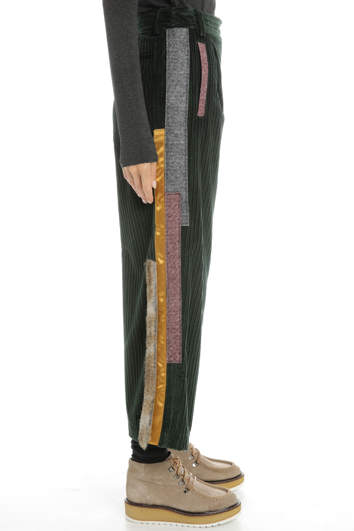 Corduroy trousers Intrend