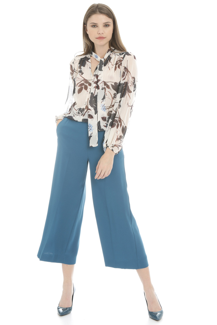 Cropped wide leg trousers Intrend
