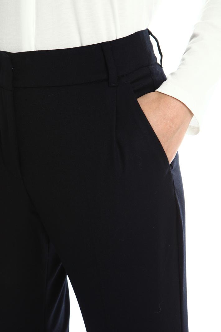 Virgin wool trousers Intrend