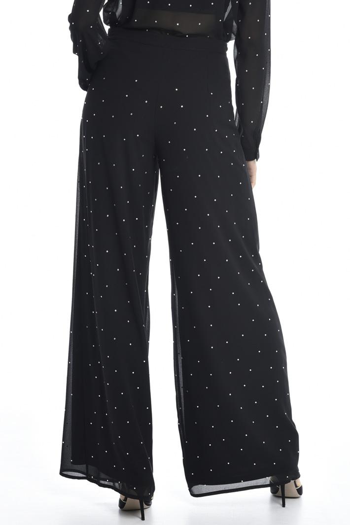 Rhinestone trousers Intrend