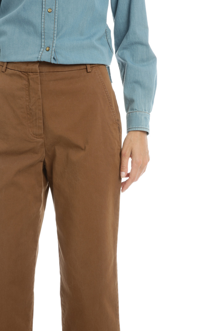 Cotton twill chinos Intrend
