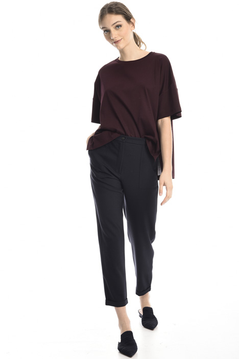 Folded cuff trousers Intrend