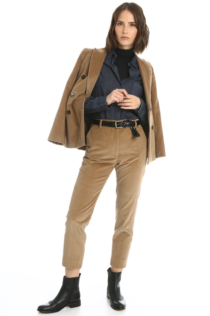 Slim corduroy trousers Intrend