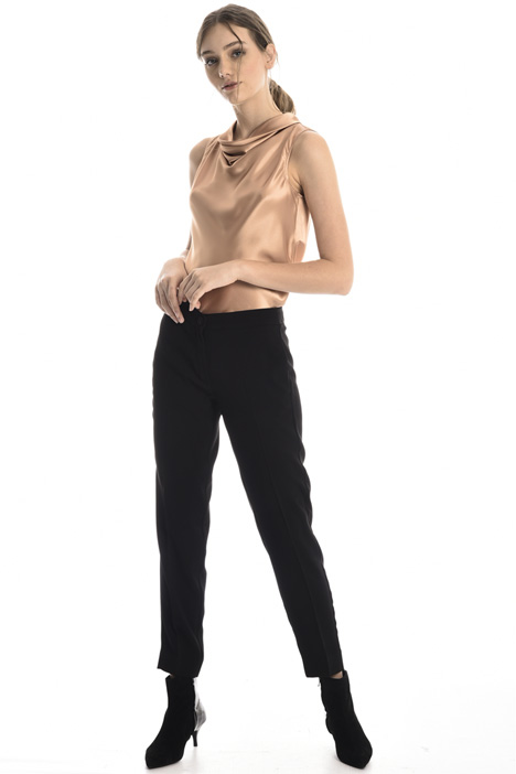 Crepe cigarette trousers Intrend