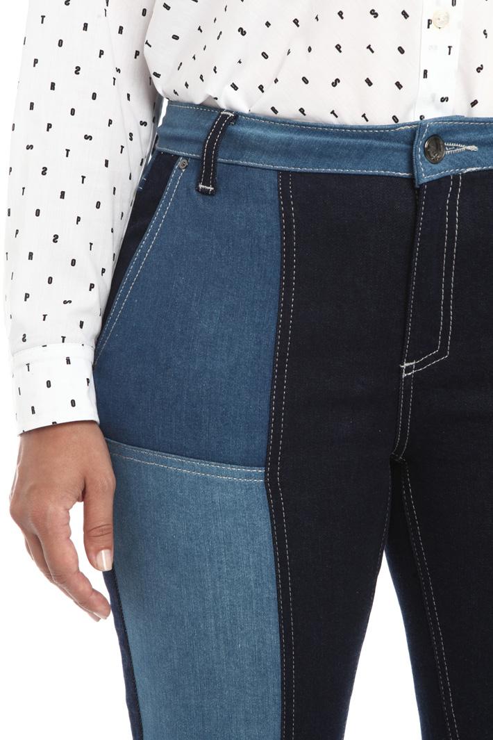 Stretch denim jeans Intrend