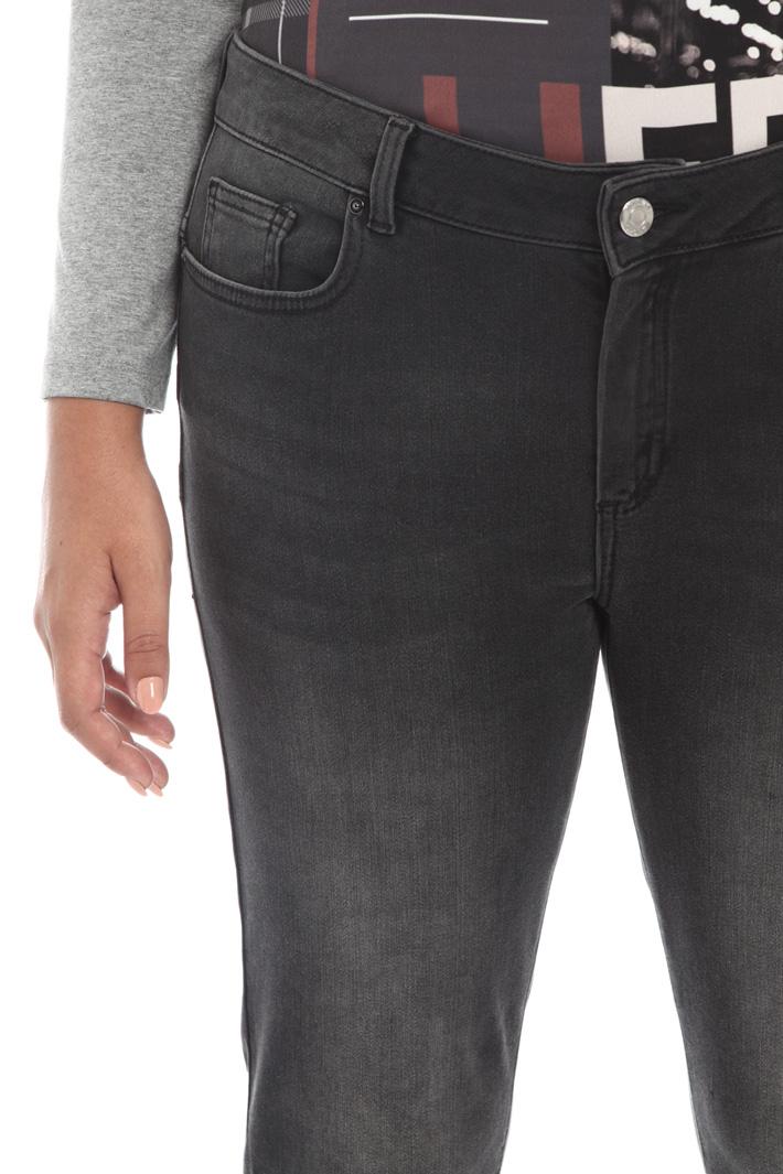 Stretch denim trousers Intrend