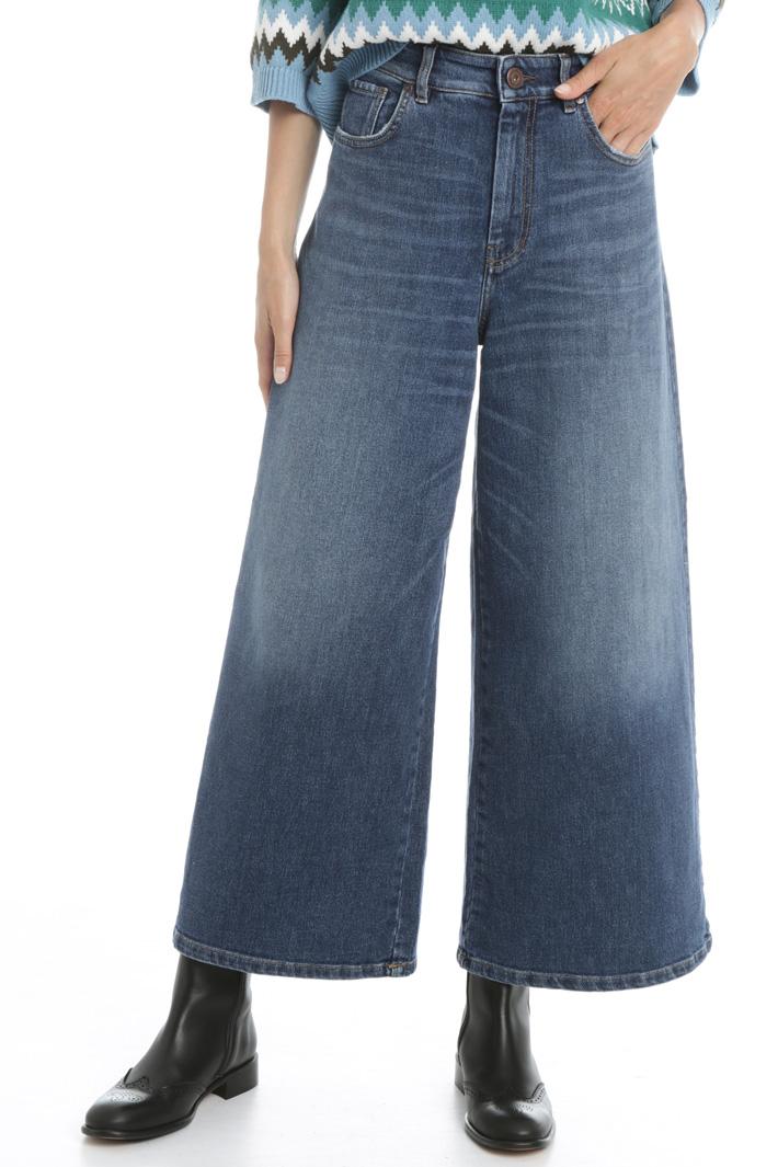 Wide-leg denim jeans Intrend