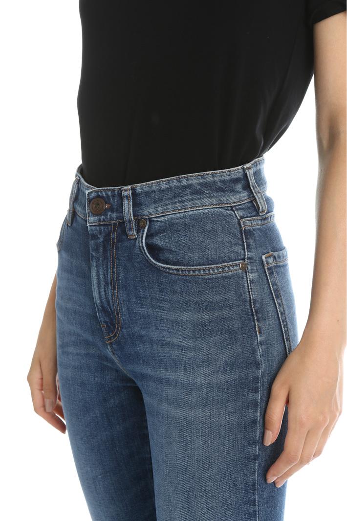 Denim cotton trousers Intrend