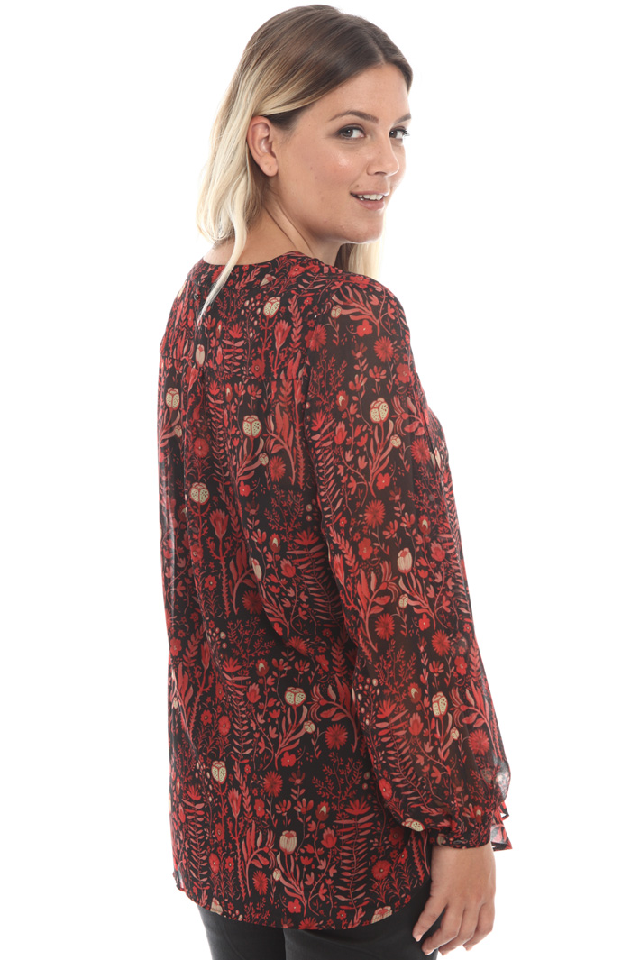 Printed georgette tunic Intrend