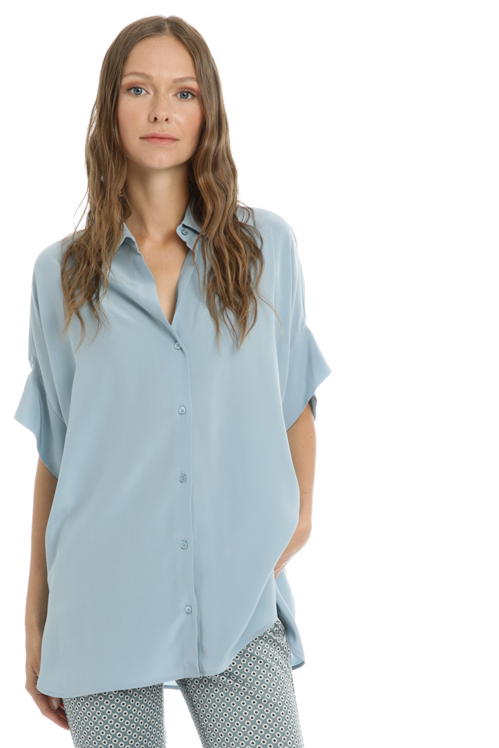 Silk crepe de chine shirt Intrend