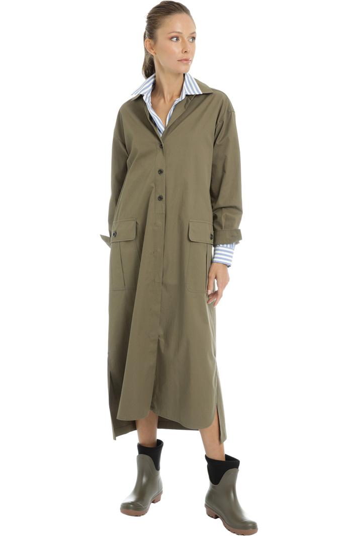 Cotton gabardine dress Intrend