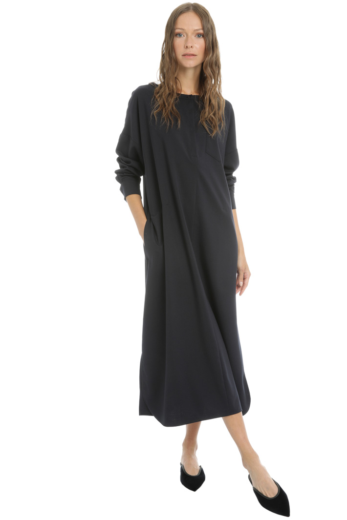 Wool twill dress Intrend