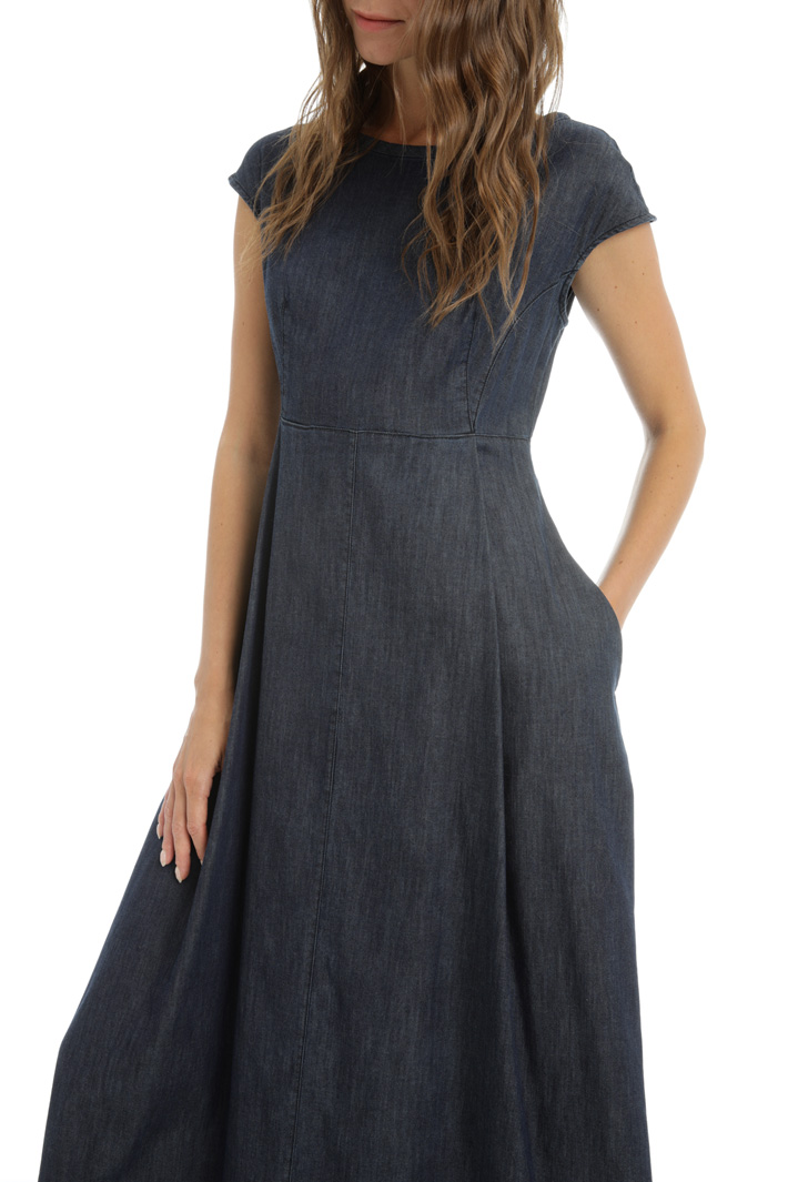 Cotton denim dress Intrend