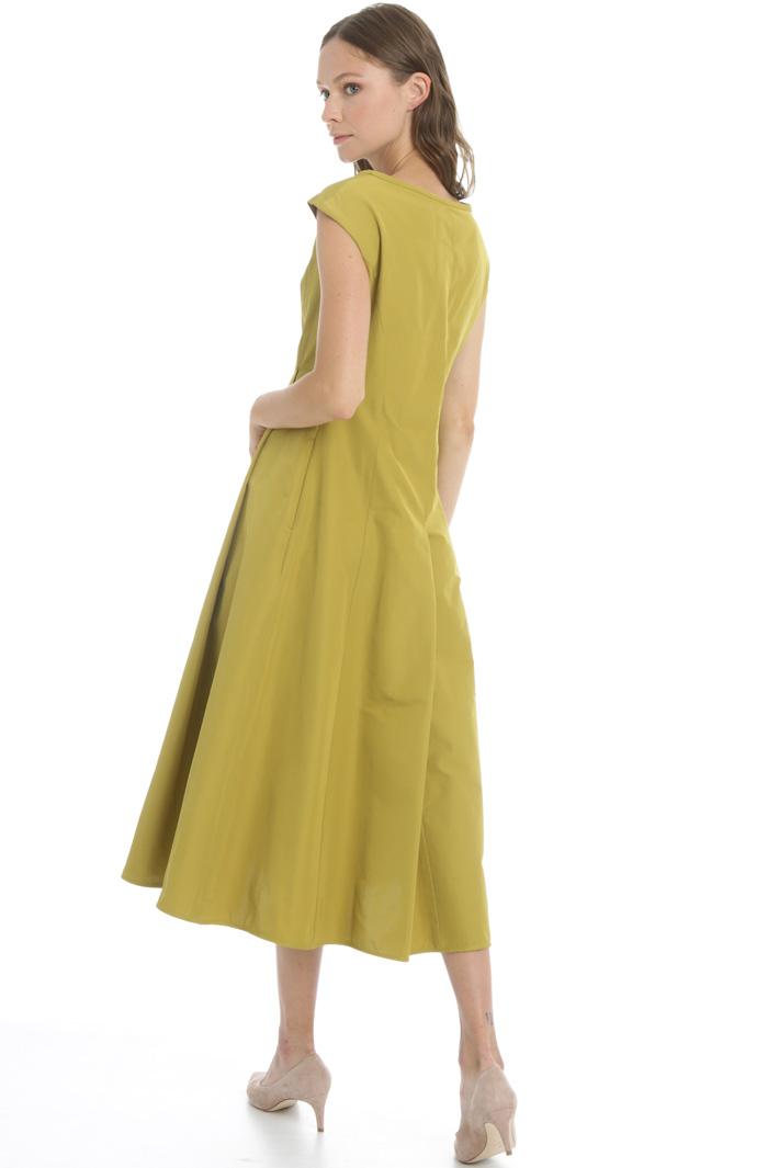 Cotton twill dress Intrend
