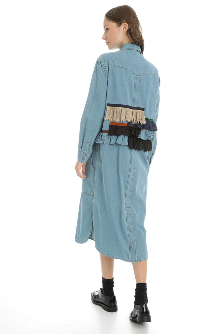 Cotton denim dress Intrend