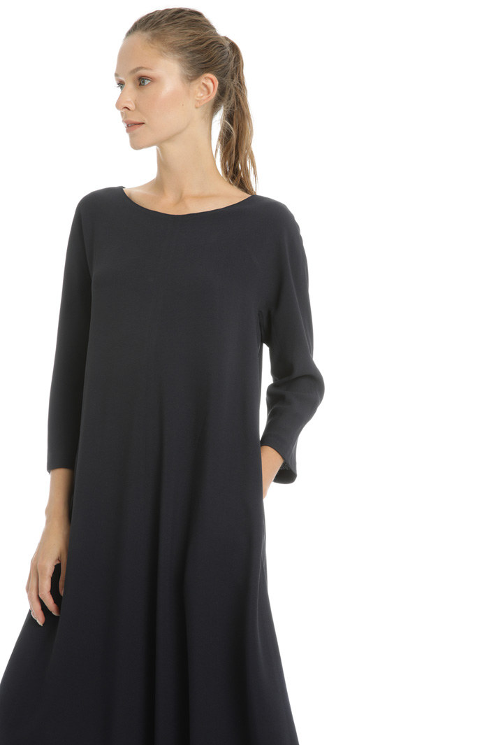 Viscose sable dress Intrend