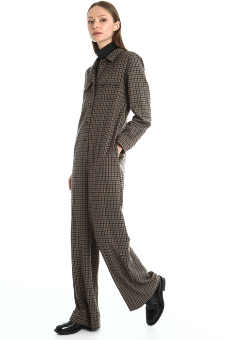 Wool flannel jumpsuit Intrend