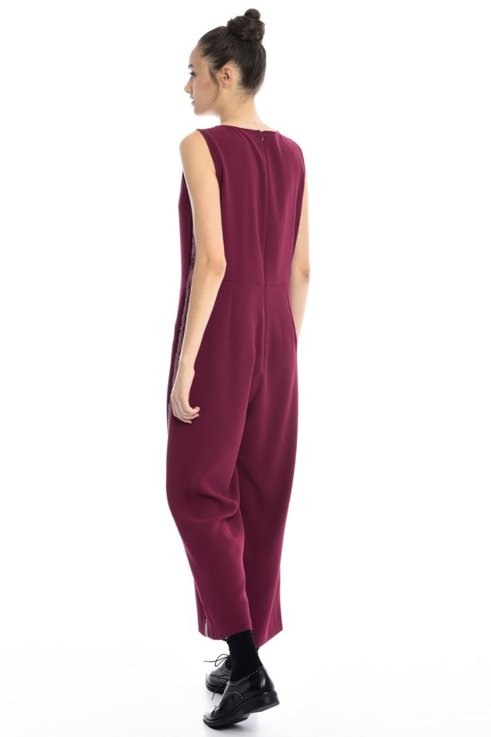 Jumpsuit with sequin stripe Intrend